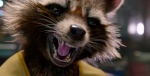 The surgically and cybernetically enhanced and tortured soul of Rocket Raccoon is the surprise of the film.