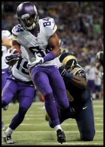 Silly Rams, Patterson cannot be brought down my one man alone.