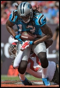 If Benjamin looks good with Derek Anderson, fantasy owners should be salivating over Cam Newton + KB.