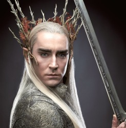 One of the film's secret weapons is Lee Pace as Thranduil in a cool and collected, yet cold and calculated performance.